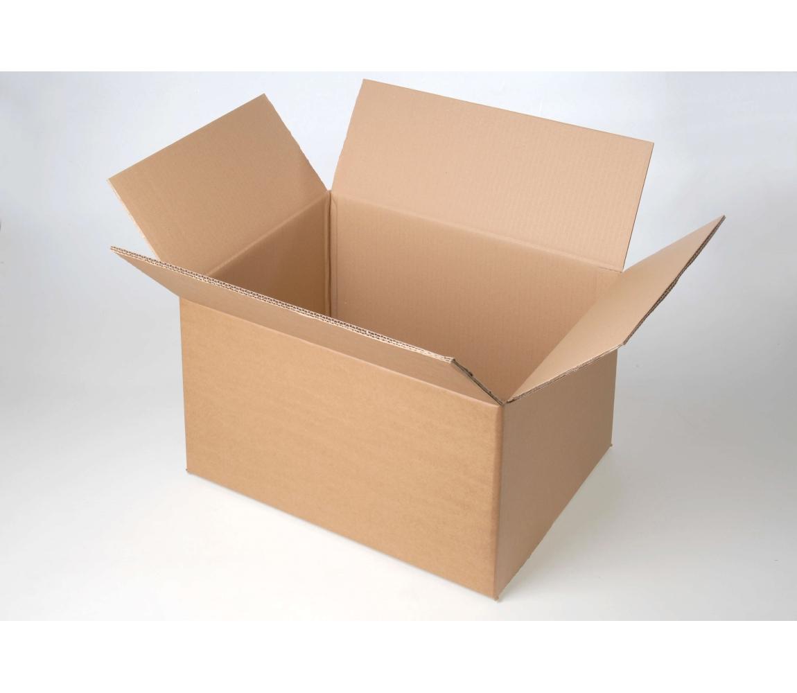 G.N.P. Kartonová Krabice z pětivrstvého kartonu 700x500x500, klopová (0201)