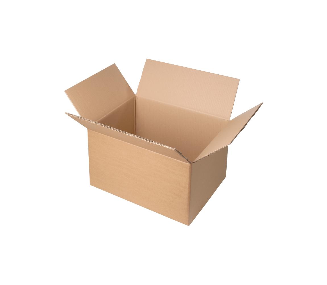 G.N.P. Kartonová Krabice z třívrstvého kartonu 390x290x285, klopová