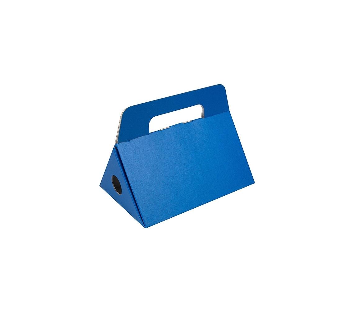 G.N.P. Odnoska na láhev vína 250x174x186 mm, modrá matná