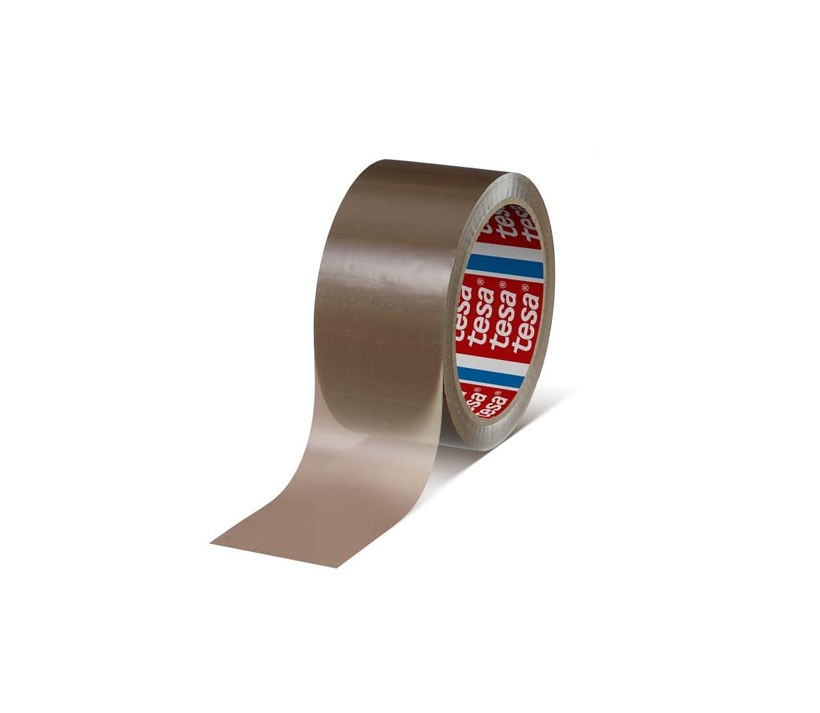 Páska samolepicí PP 48x66 hnědá-hawana, TESAPACK 4280