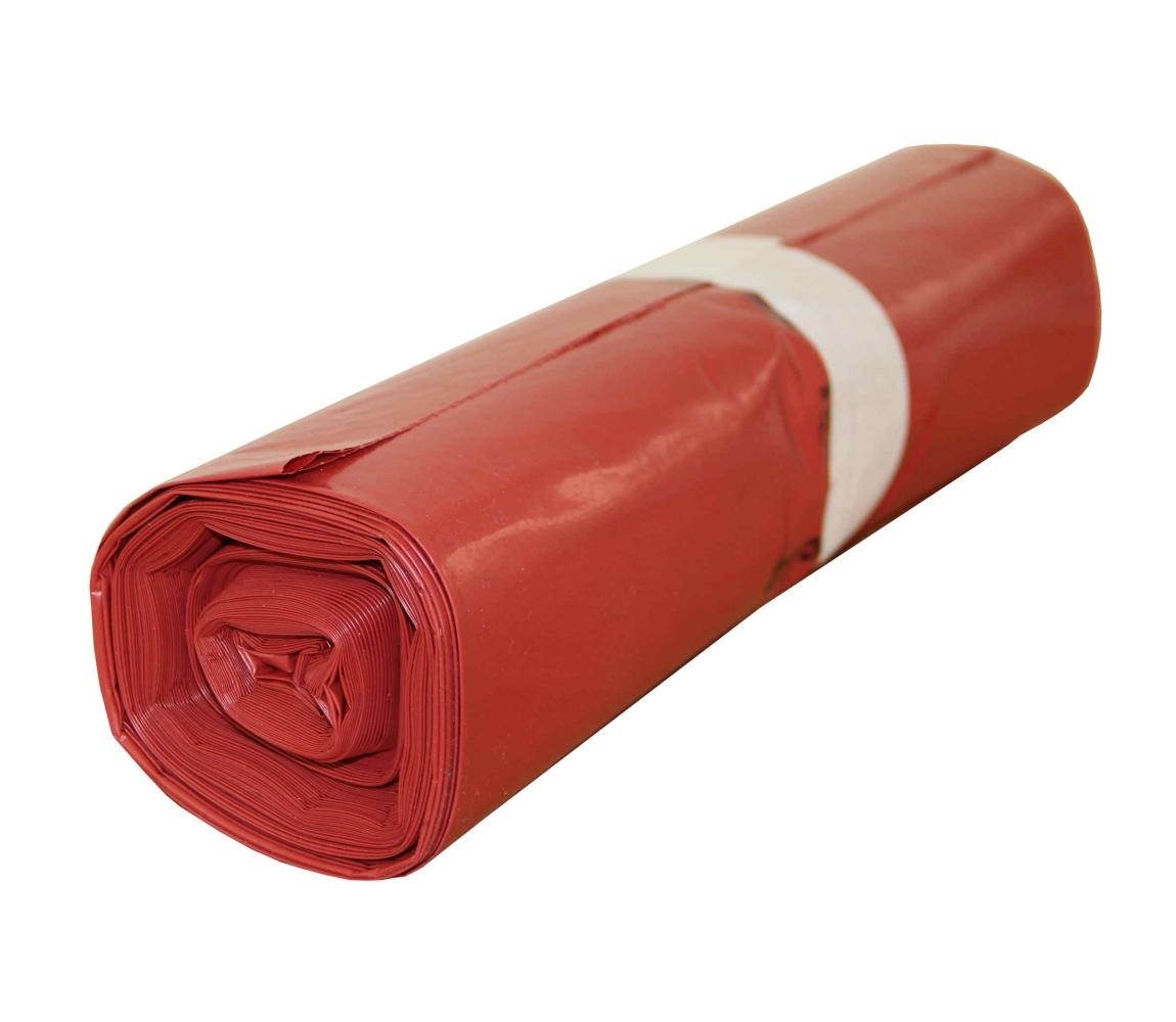 G.N.P. Pytel na odpad LDPE 700x1100/0,040 - červený