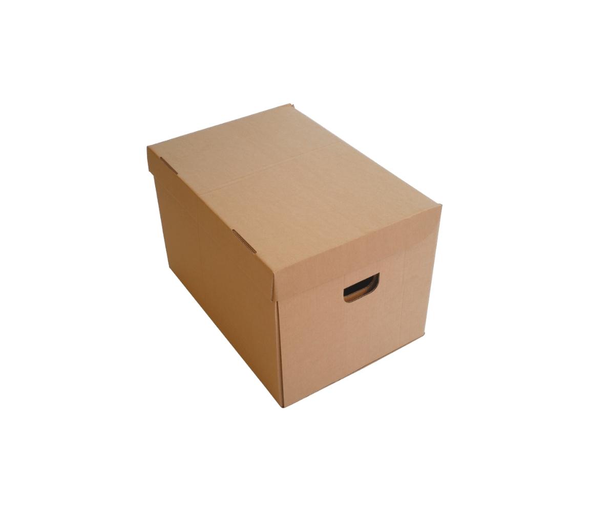 G.N.P. Kartonová Speciální stěhovací krabice 386x325x296 mm, s víkem