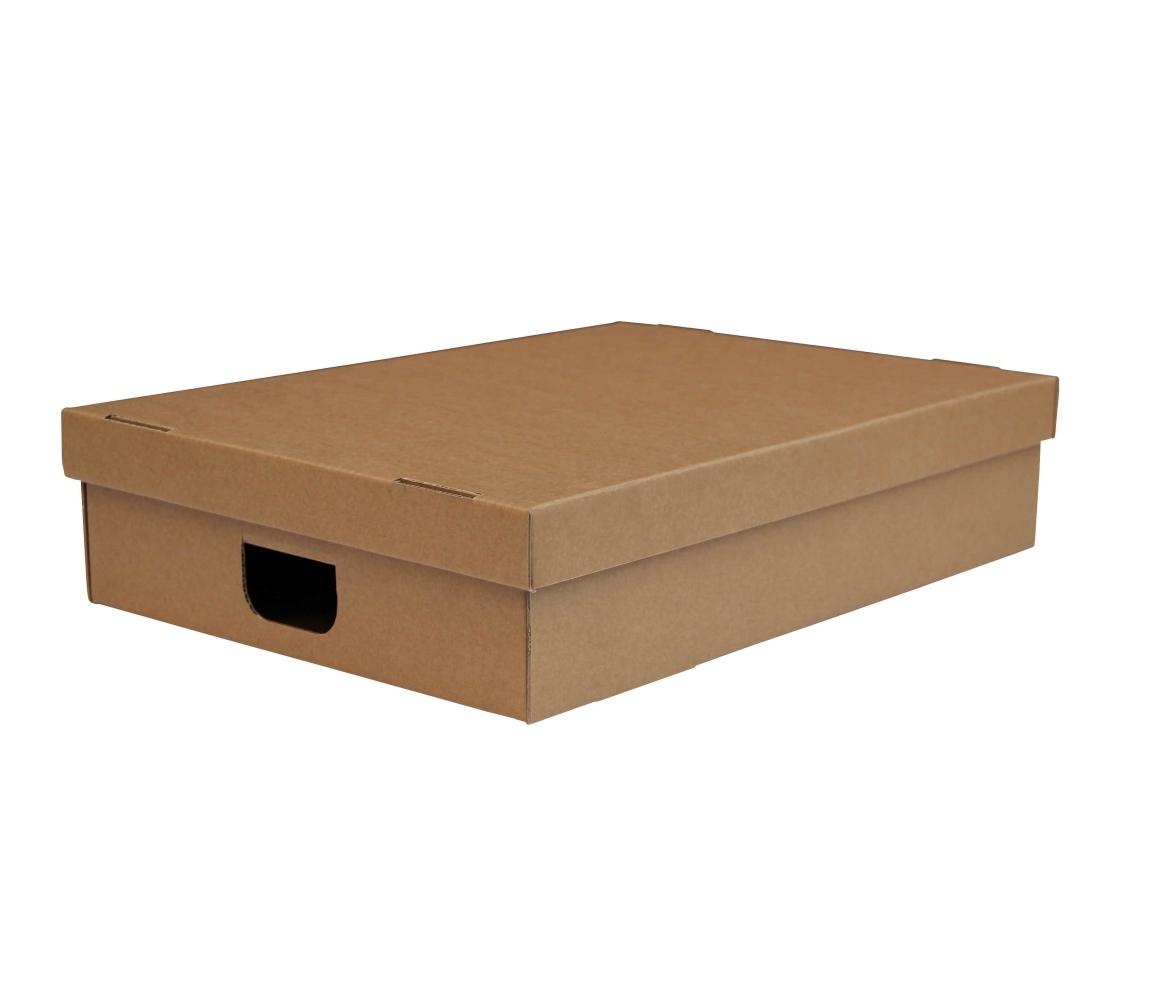 G.N.P. Úložná krabice s víkem 530 x 380 x 120 mm