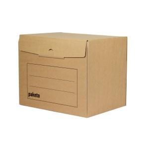 Archivační krabice na 5 šanonů, 390x295x327, s potiskem