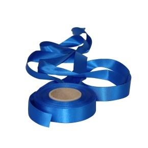 Atlasová stuha modrá, šíře 24 mm, délka 20 m