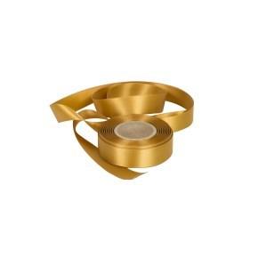 Atlasová stuha zlatá, šíře 24 mm, délka 20 m