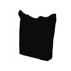 Bavlněná nákupní taška černá 380x420mm