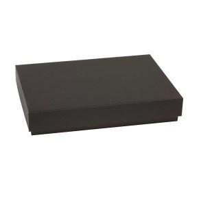 Dárková krabice s víkem 300x200x50/40 mm, černá