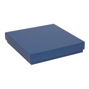 Dárková krabice s víkem 300x300x50/40 mm, modrá