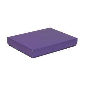 Dárková krabice s víkem 350x250x50/40 mm, fialová