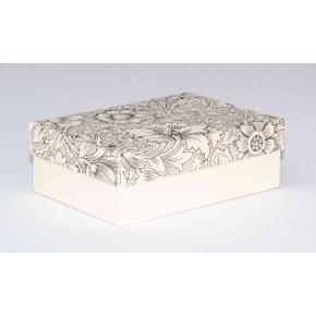 Dárková krabička 130x90x45 mm, dekor 141, krémové dno