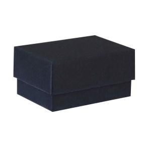Dárková krabička dno a víko 60x40x30 mm, černá