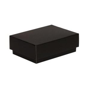 Dárková krabička s víkem 150x100x50/40 mm, černá