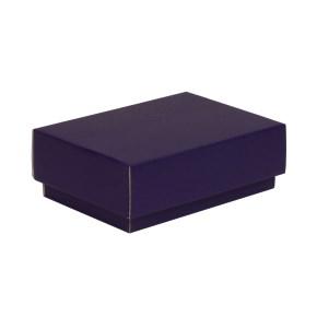 Dárková krabička s víkem 150x100x50/40 mm, fialová