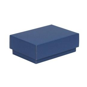 Dárková krabička s víkem 150x100x50/40 mm, modrá