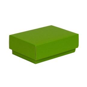 Dárková krabička s víkem 150x100x50/40 mm, zelená