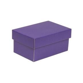 Dárková krabička s víkem 200x125x100/40 mm, fialová