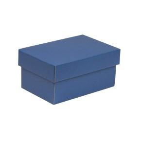 Dárková krabička s víkem 200x125x100/40 mm, modrá