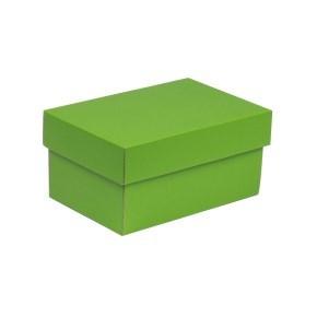 Dárková krabička s víkem 200x125x100/40 mm, zelená