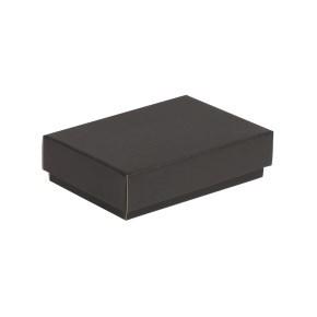 Dárková krabička s víkem 200x125x50/40 mm, černá