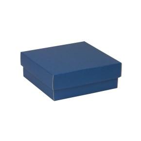 Dárková krabička s víkem 200x200x70/40 mm, modrá