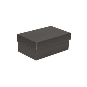 Dárková krabička s víkem 250x150x100/40 mm, černá