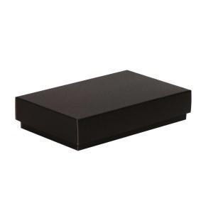 Dárková krabička s víkem 250x150x50/40 mm, černá
