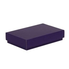 Dárková krabička s víkem 250x150x50/40 mm, fialová