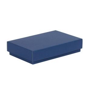 Dárková krabička s víkem 250x150x50/40 mm, modrá