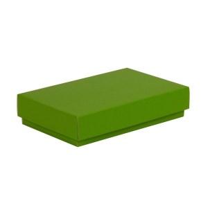 Dárková krabička s víkem 250x150x50/40 mm, zelená