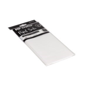 Hedvábný balicí papír 500 x 660 mm, bílý, 10 archů
