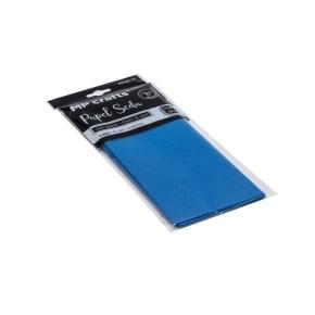 Hedvábný balicí papír 500 x 660 mm, tmavě modrý, 10 archů