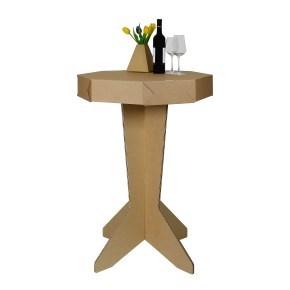 Kartonový barový stůl č. 2, 715x715x1070mm