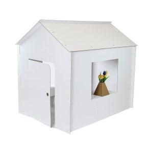 Kartonový domeček z 5VVL, 1300x1000x1230 mm, bez potisku