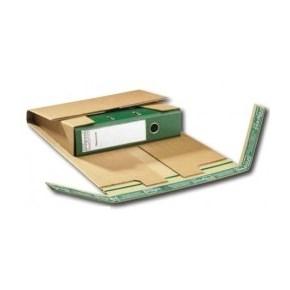 Kartonový zásilkový obal na pořadače, 320 x 290 x max.80 mm