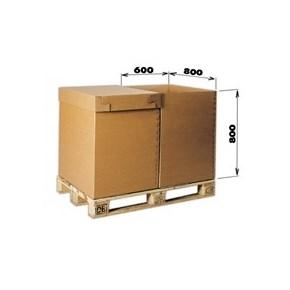 Krabice 5VVL 0200 785x585x775 bez horních klop