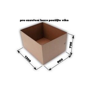 Krabice 7VVL 0200 1170x770x670 EUROBOX bez horních klop