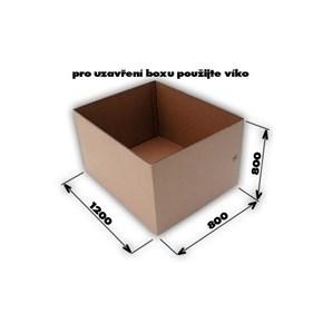 Krabice 7VVL 0200 1170x770x770 EUROBOX bez horních klop