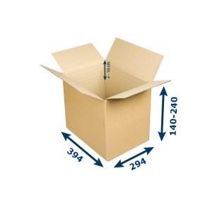 Krabice na tiskoviny A4 394x294x140-240 mm 3VVL