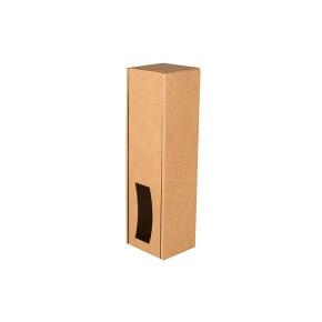 Krabice na víno 85x333x85 mm, kraftová