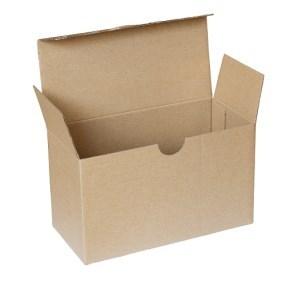 Krabice poštovní 193x89x112 mm, 3VVL hnědá FEFCO 0713