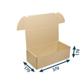 Krabice poštovní 370x170x170 3VVL FEFCO 0427