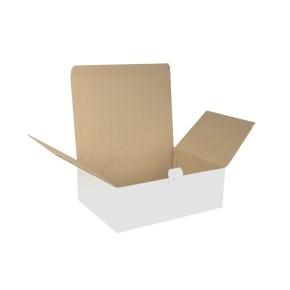 Krabice poštovní 375x265x125 3VVL BH1.25B FEFCO 0713
