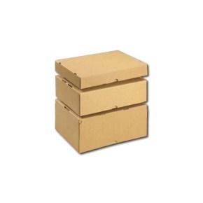 Krabice skládací s víkem 305x215x50 pro tiskoviny A4, 2 díly