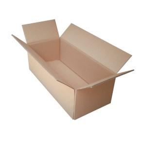 Krabice z pětivrstvého kartonu 575x245x190, klopová (0201)