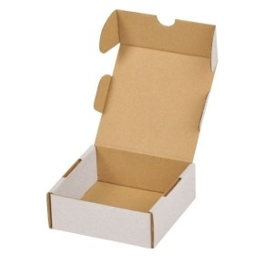 Krabice z třívrstvého kartonu 100x100x40, mini krabička