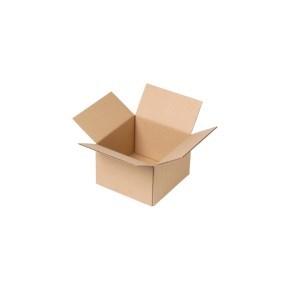 Krabice z třívrstvého kartonu 150x150x100, klopová (0201)