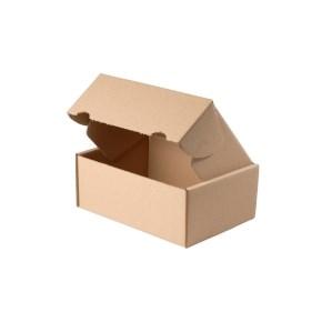 Krabice z třívrstvého kartonu, 165x115x70 mm, mini krabička, hnědá