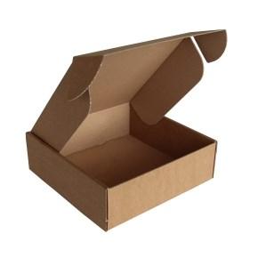 Krabice z třívrstvého kartonu 185x185x60, vysekávaná 0427
