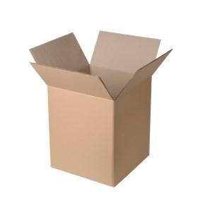 Krabice z třívrstvého kartonu 194x194x188, klopová (0201)